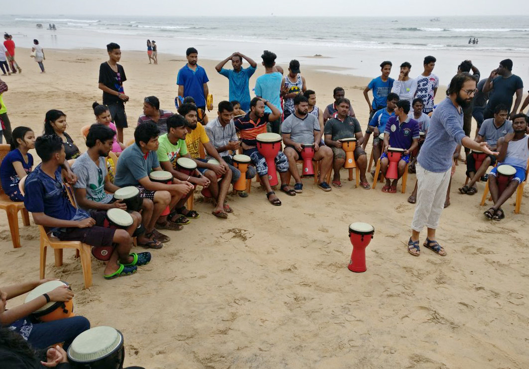 Drum Circle Goa