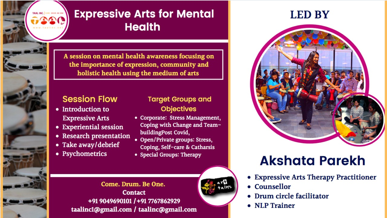 Expressive Arts for Mental health