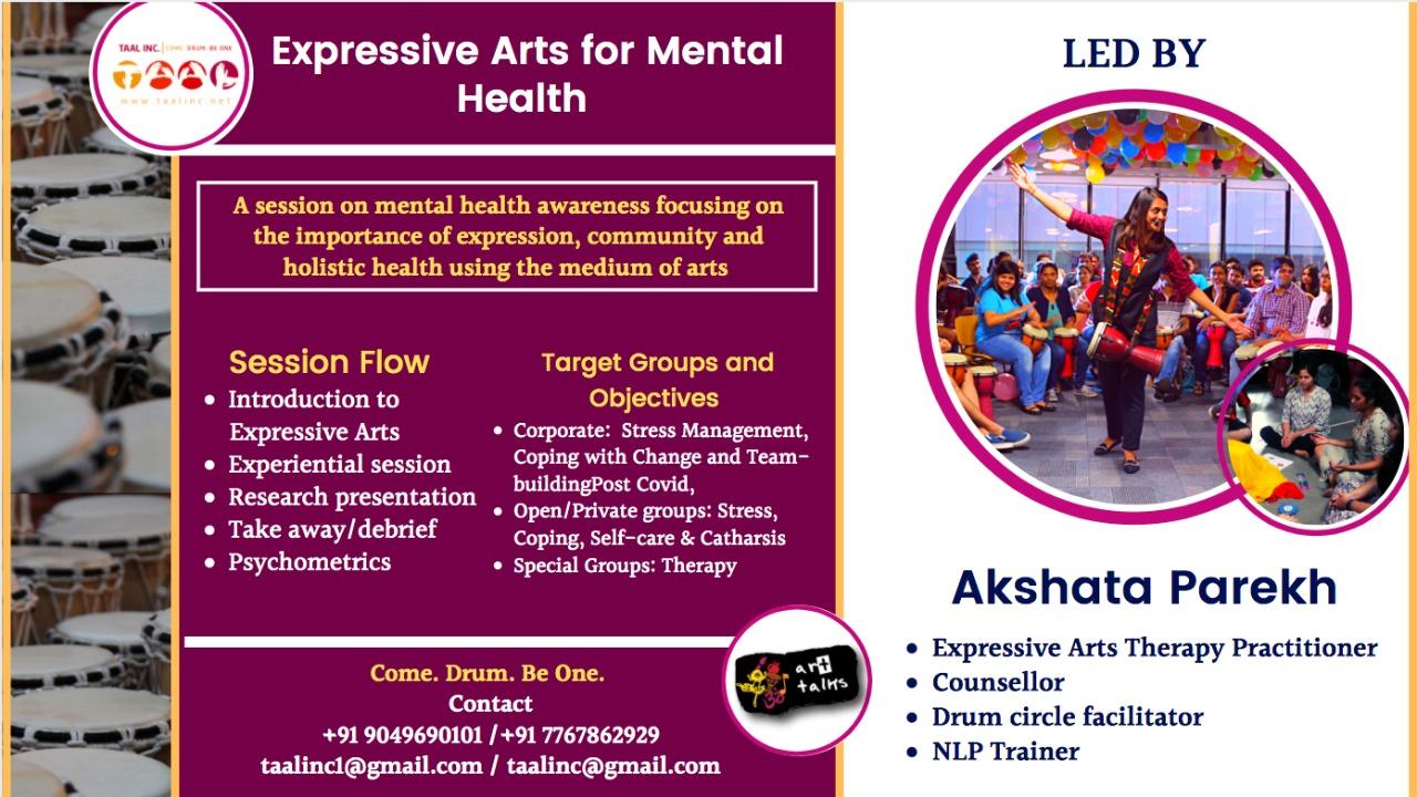 Expressive Arts for Mental Health