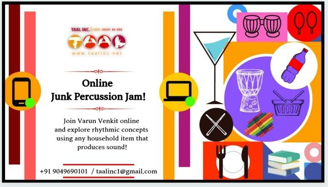 Online Junk Percussion Jam