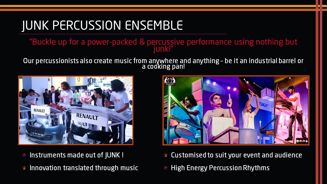 Junk Percussion Ensemble