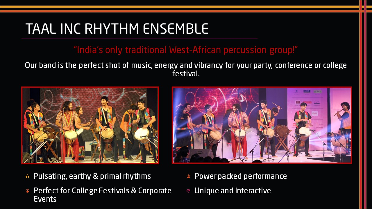 Taal Inc.Rhythm Ensemble